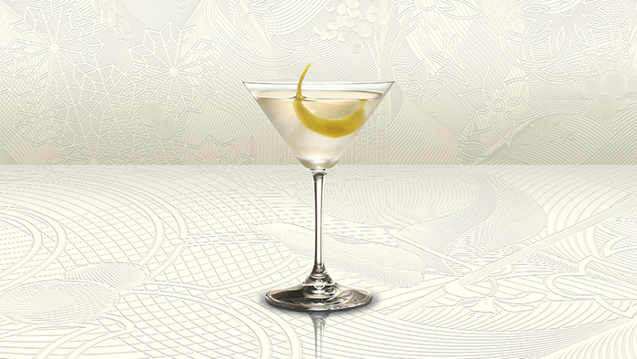 CÓctel Bombay Sapphire Martini recipe